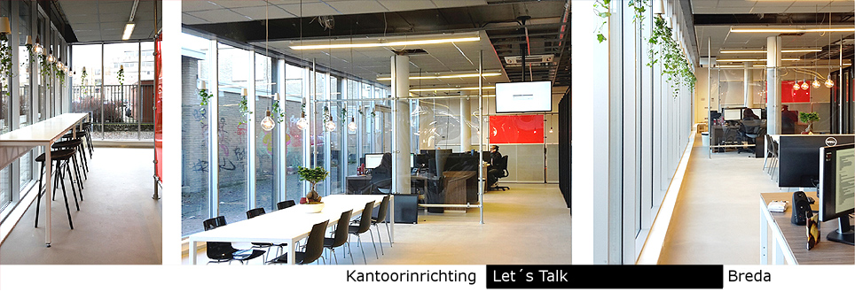 kantoorinrichting Lets`s Talk, Breda